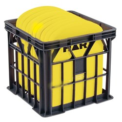 HART Kickboard Crate - Small Yellow